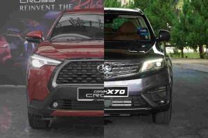 2021 Toyota Corolla Cross vs Proton X70:你还想买X70吗?