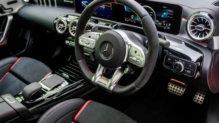 2020 Mercedes-Benz AMG CLA 45 S Interior 003