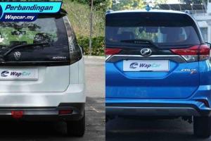 Perodua Aruz vs. Proton Exora: Perbandingan kereta 7 tempat duduk