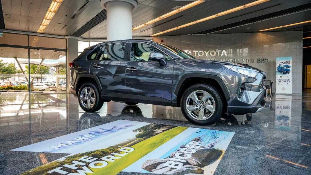 2020 Toyota RAV4 2.5L Exterior 058