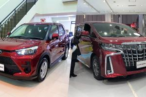 Toyota Raize, Alphard - antara 5 kereta paling laris di Jepun tahun 2020 yang ada di Malaysia!
