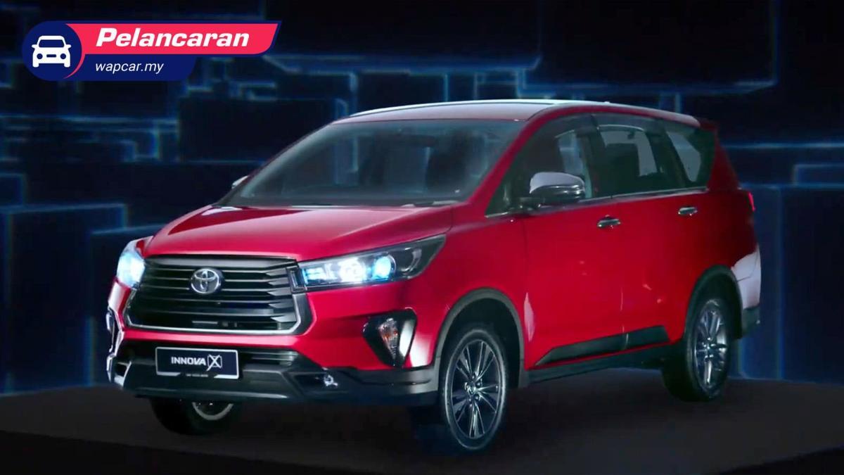 Toyota Innova facelift 2021 dilancarkan di Malaysia – bermula RM 111k, kamera 360-darjah, BSM 01