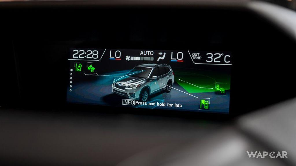Subaru Forester (2019) Interior 013