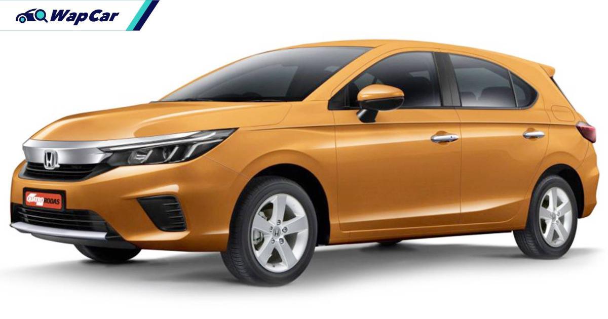 2021 Honda City Hatchback's global debut in Thailand on 24-Nov, Malaysia soon? 01