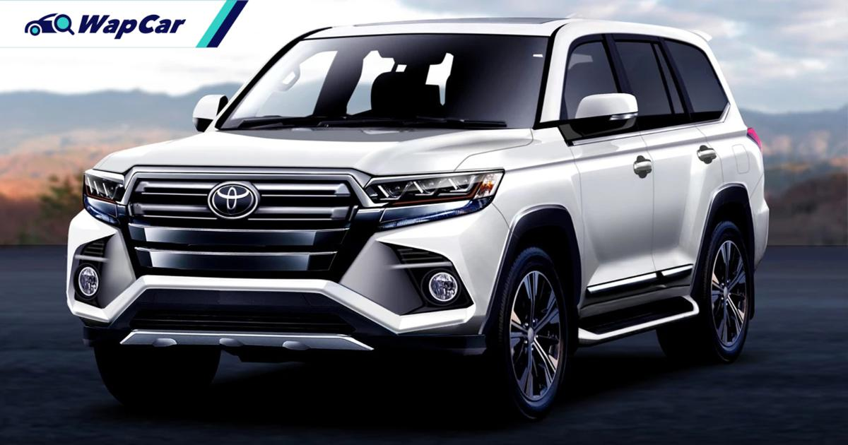 All-new 2021 Toyota Land Cruiser 300 to debut next year 01