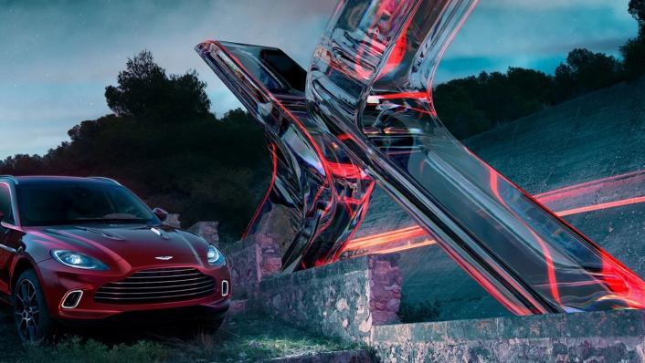 2021 Aston Martin DBX Exterior 007