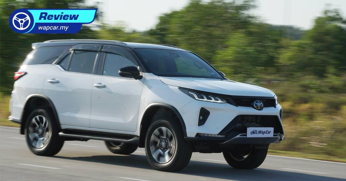Review: 2021 Toyota Fortuner 2.8 VRZ in Malaysia; as good as the Land Cruiser? 01