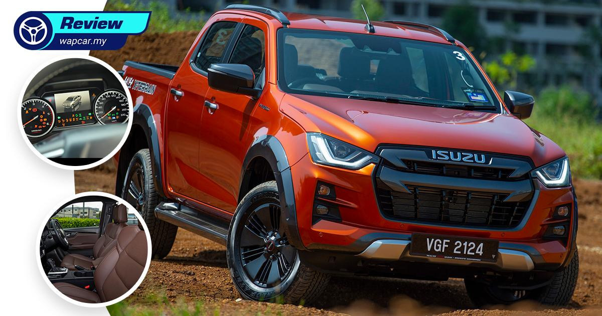 Quick Review: All-new 2021 Isuzu D-Max 3.0 X-Terrain, Malaysia's new best pick-up truck? 01