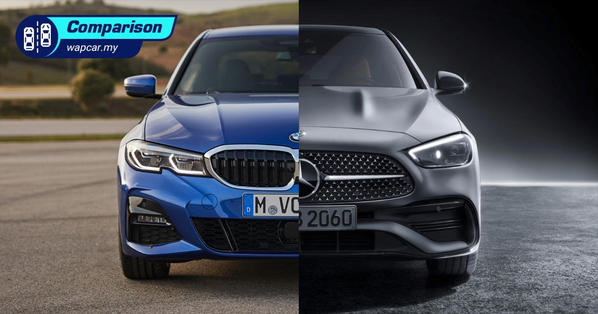 W206 Mercedes-Benz C-Class is bigger than G20 BMW 3 Series; cast your votes 01