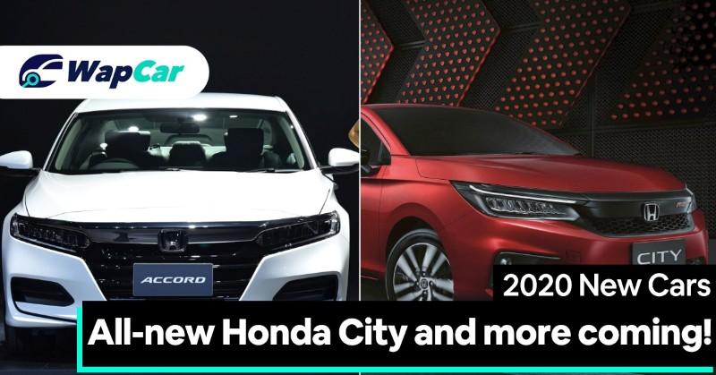2020 Honda New Models Accord City And More For Malaysia Wapcar