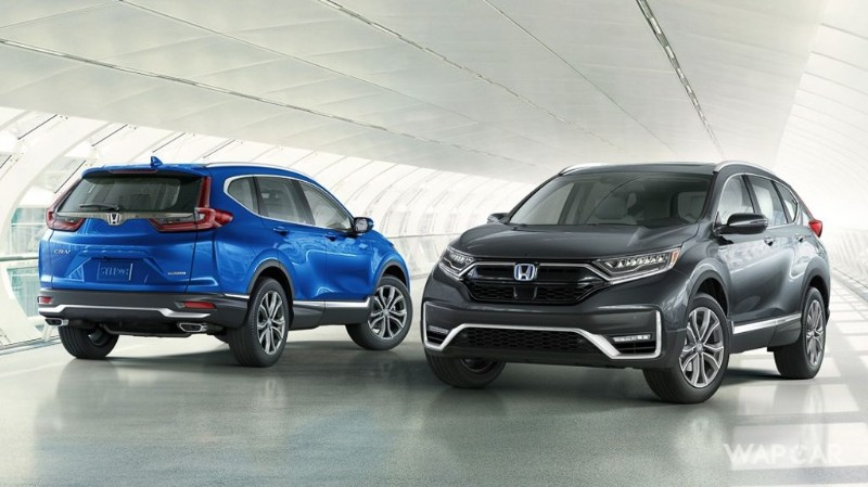 Honda CR-V facelift revealed in U.S. without much changes 02