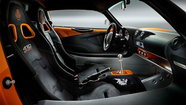 Lotus Exige Roadster (2000) Interior 001