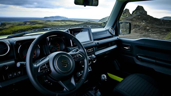 2021 Suzuki Jimny Interior 002