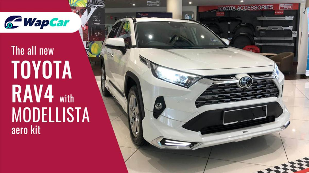 Make your Toyota RAV4 stand out with this Modellista Aero Kit in Malaysia! 01