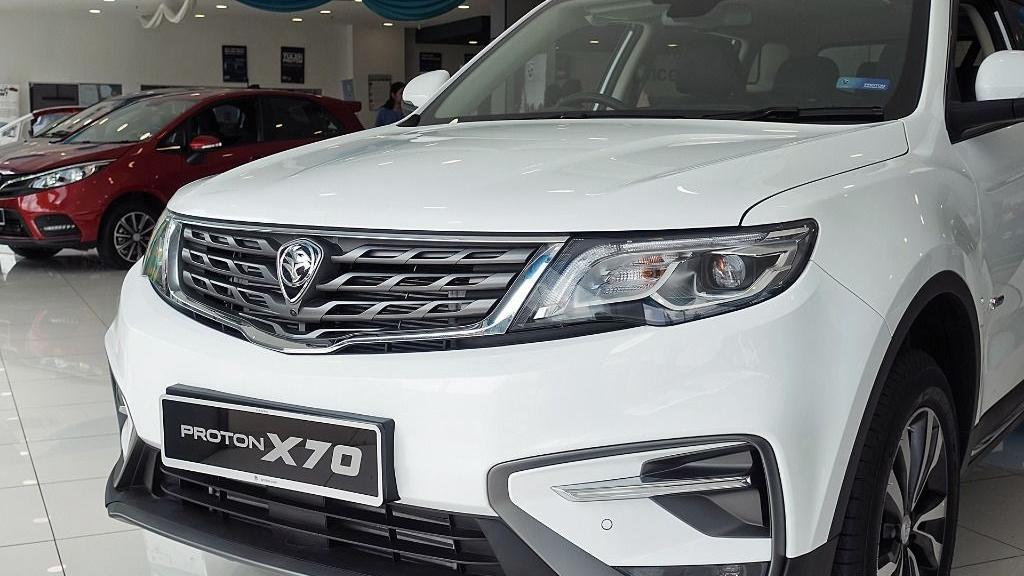 2018 Proton X70 1.8 TGDI Executive AWD Exterior 011