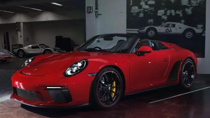 2019 Porsche 911 911 Speedster Exterior 001