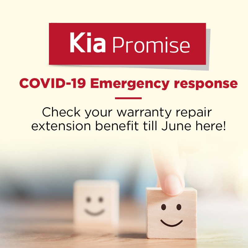 Kia Promise global warranty extension programme