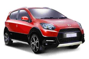 Perodua's upcoming Axia-based crossover will probably look like this