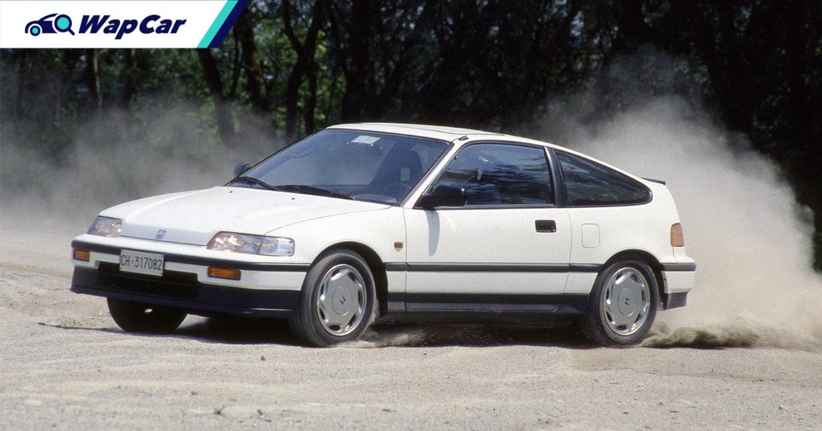 15 reasons why the Honda CR-X is one of the best cars ever made 01