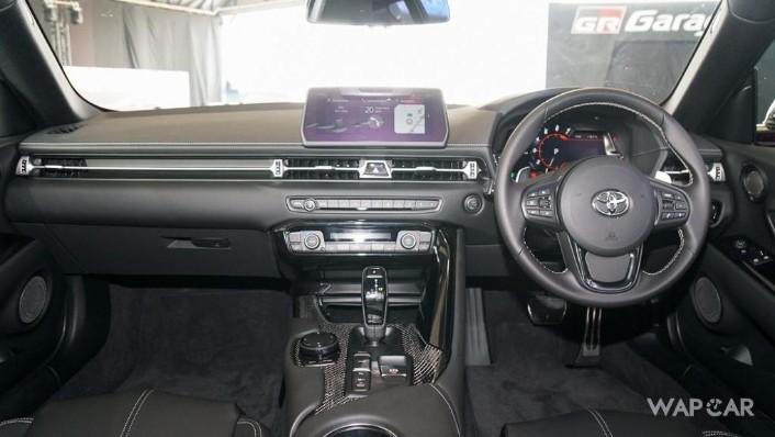 2019 Toyota GR Supra 3.0L Interior 001