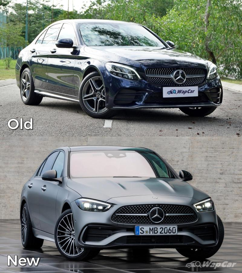 Old vs New: 2021 Mercedes-Benz C-Class (W206), like the new design better? 02
