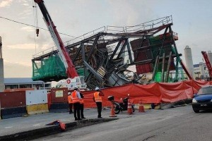 LRT 3 structure collapsed in Klang forces 5-day road closure
