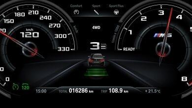 BMW M5 (2019) Interior 003