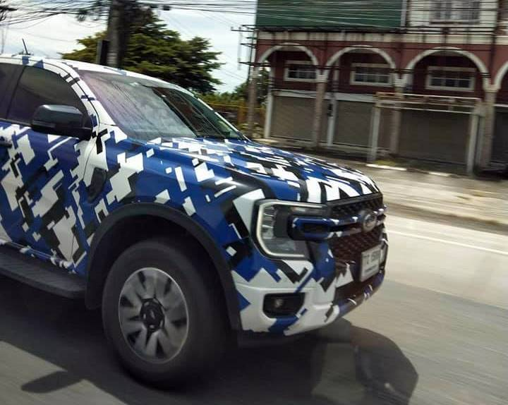 Spotted in Thailand, this is your next 2022 Ford Ranger; Triton, Hilux rival gets very American look 02