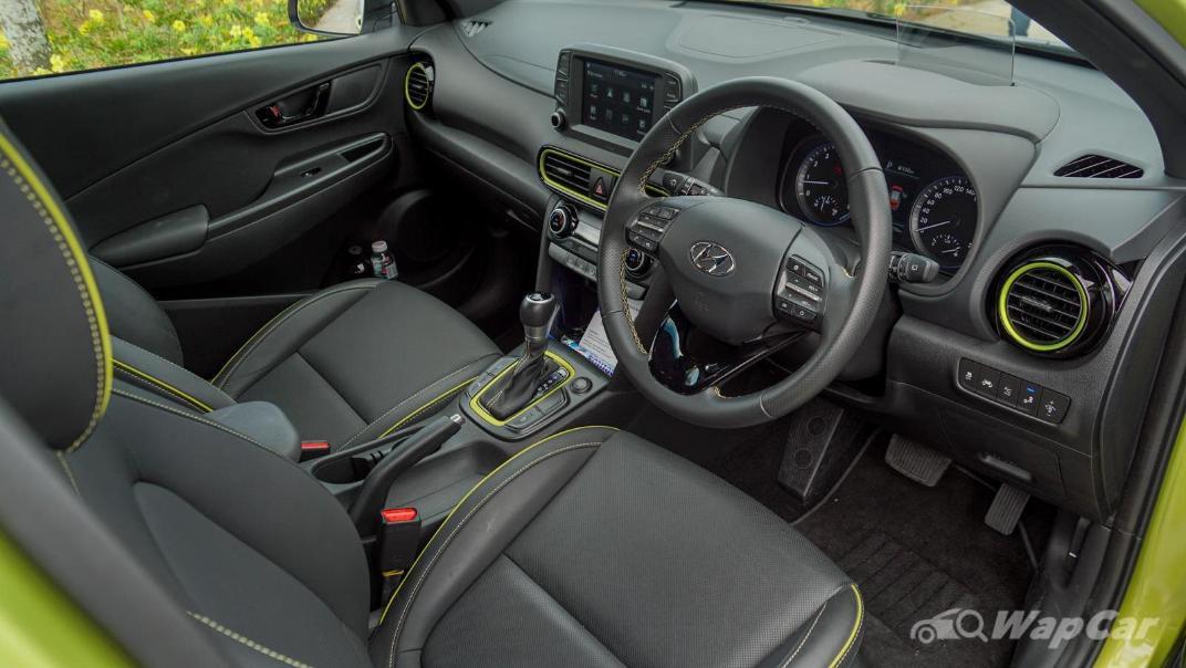 2020 Hyundai Kona 1.6 T-GDi High Interior 002