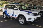 More power than the Civic 1.8, here comes the Proton X70 police car