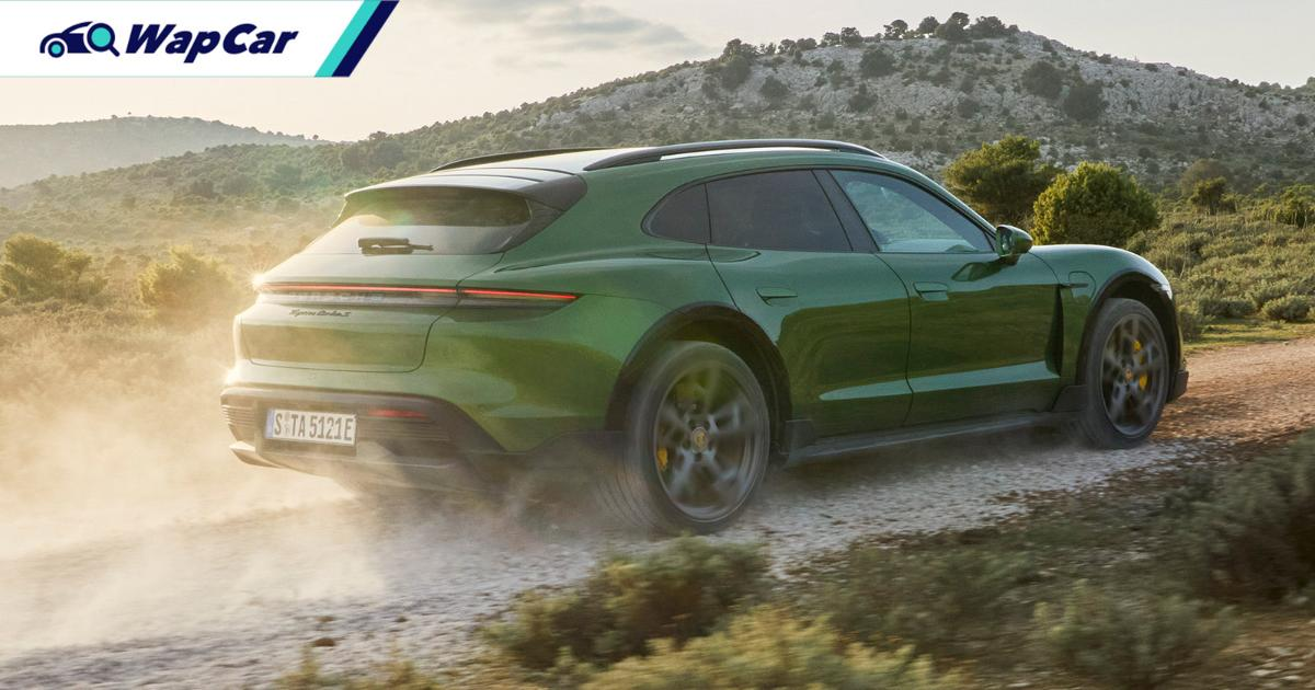 Malaysian orders opened for freshly debuted 2021 Porsche Taycan Cross 01