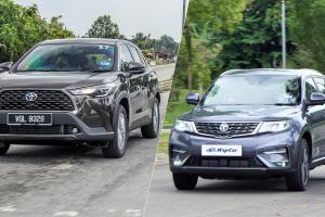 Toyota Corolla Cross vs Proton X70 - pilih ketahanan atau harga berbaloi?