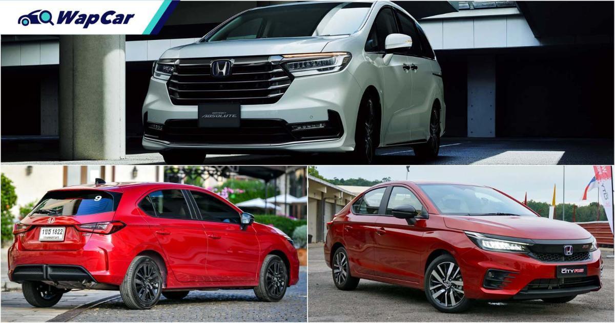 Pelancaran 2021 dari Honda Malaysia: City Hatchback, Odyssey facelift, dan banyak lagi 01