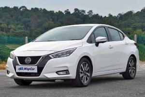 What's the minimum salary to get a loan for the 2020 Nissan Almera?