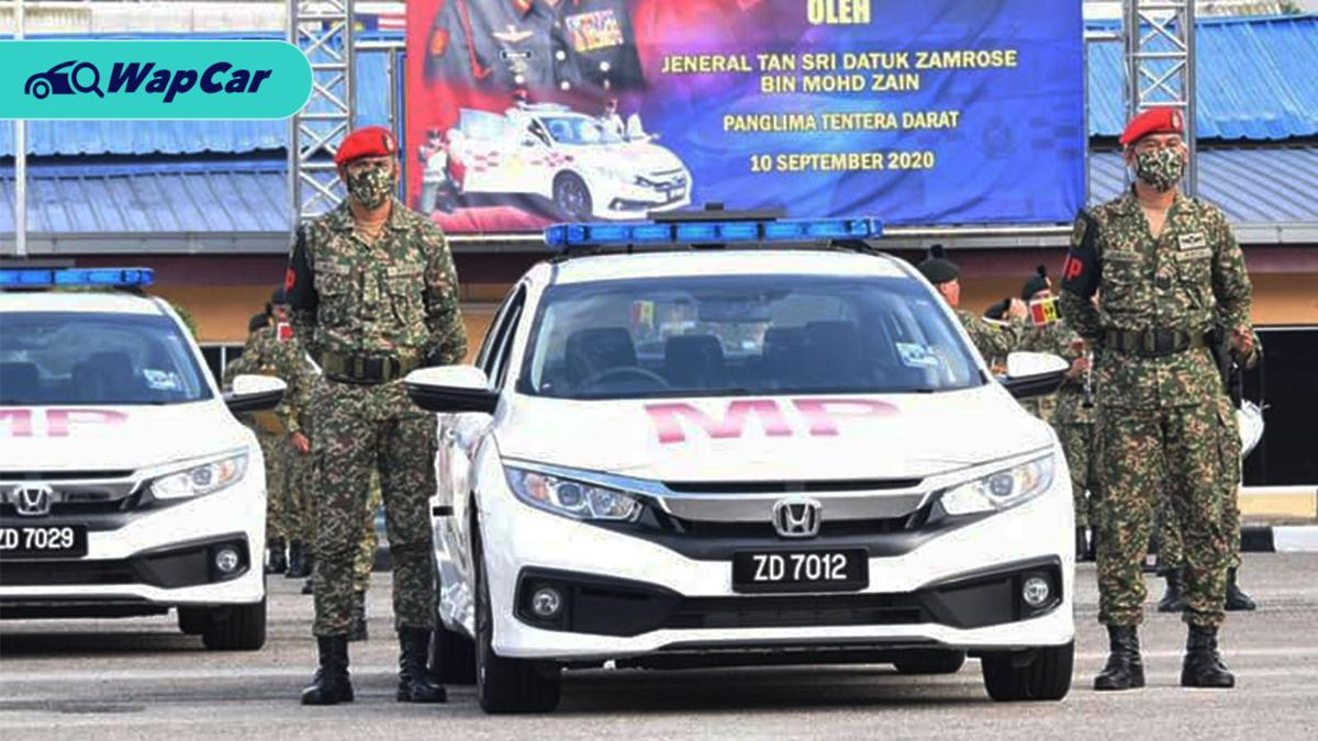 Malaysian Army gets their latest machinery, 40 units of the Honda Civic 1.8S 01