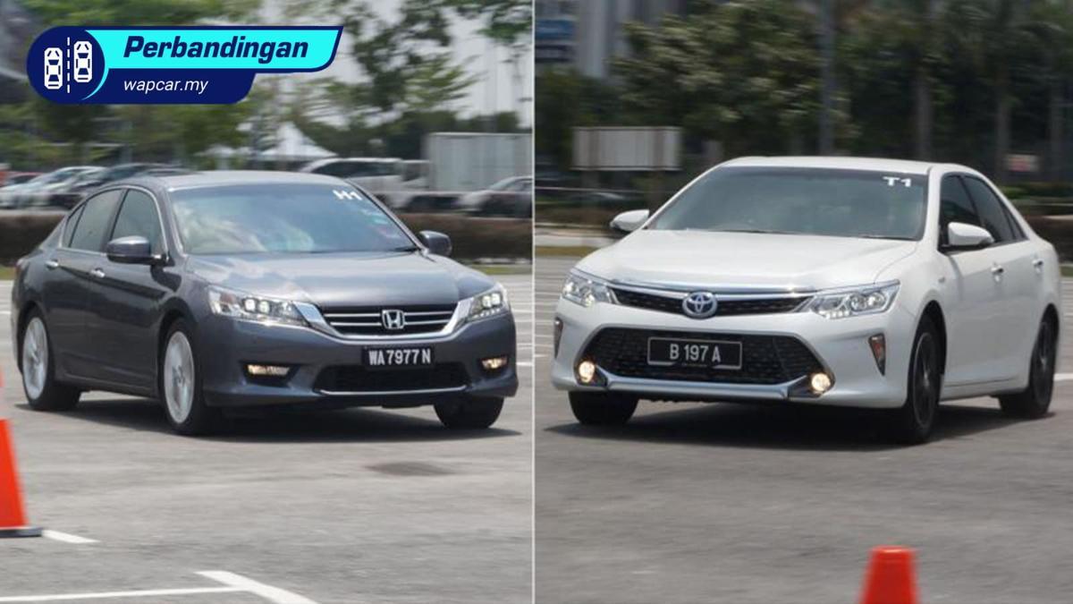 Nilai jualan semula: Toyota Camry vs Honda Accord – Yang manakah lebih baik? 01