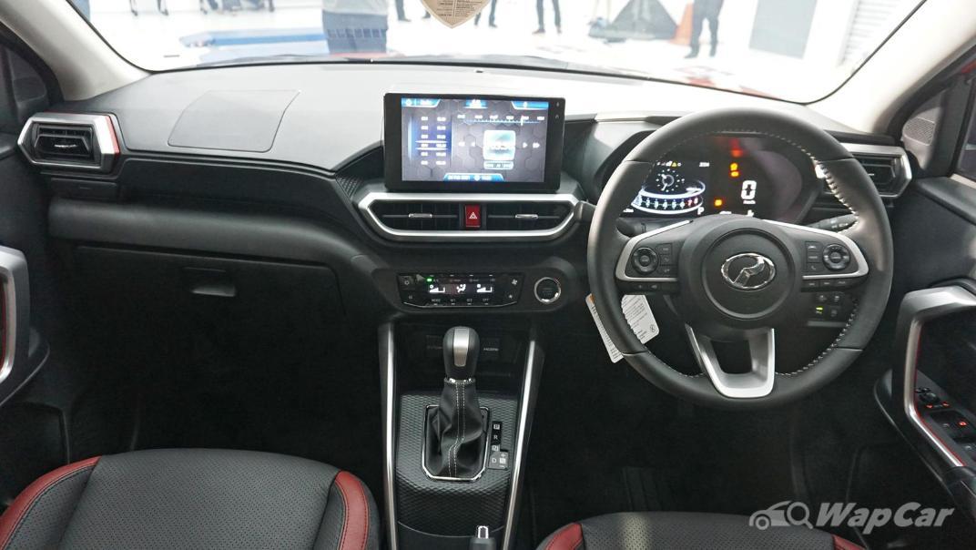 2021 Perodua Ativa 1.0L Turbo AV Interior 001