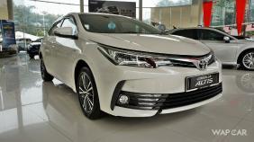 Toyota Corolla Altis (2018) Exterior 013