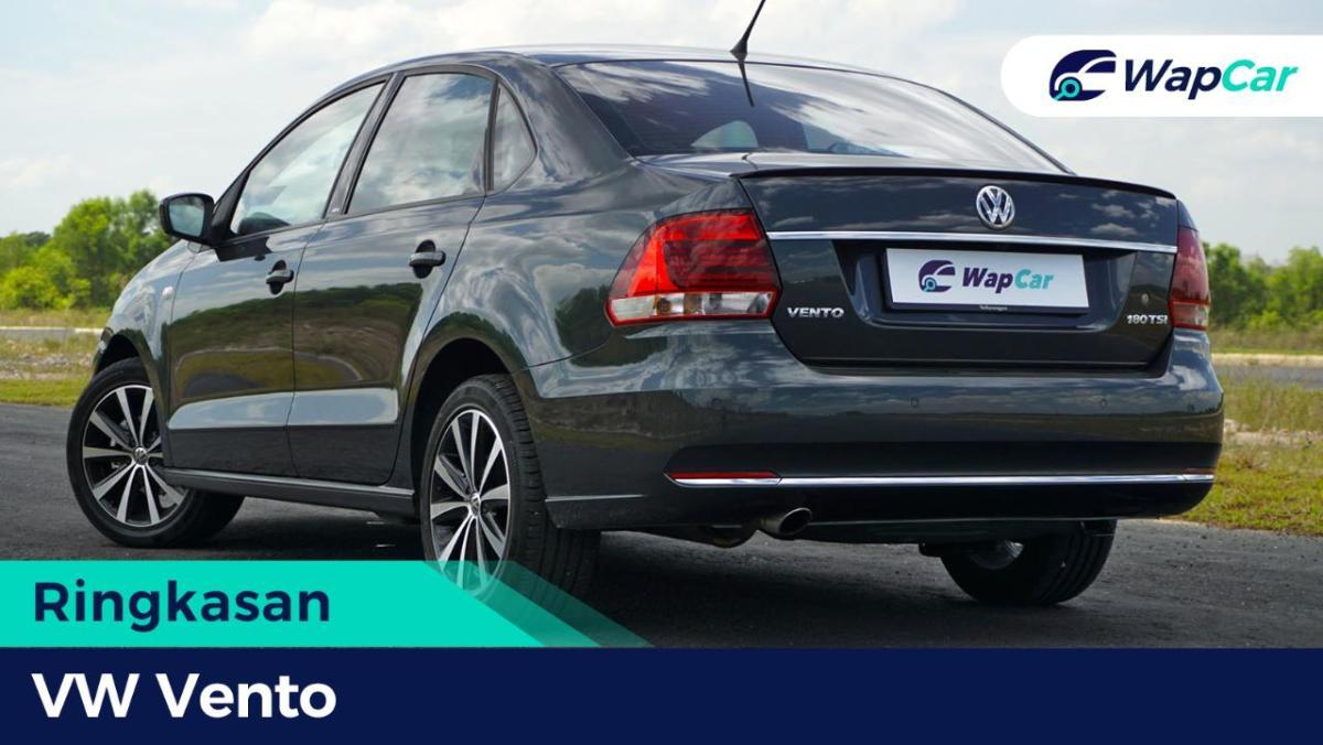 Ringkasan: VW Vento – Masih boleh dibandingkan dengan Toyota Vios dan Honda City? 01