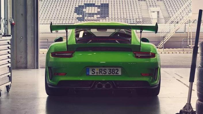 2019 Porsche 911 GT3 RS Exterior 004