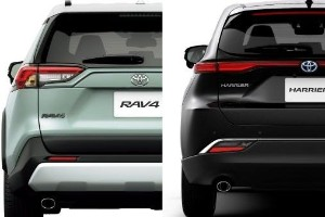 Toyota RAV4 vs Toyota Harrier, should you pay more for the Harrier?