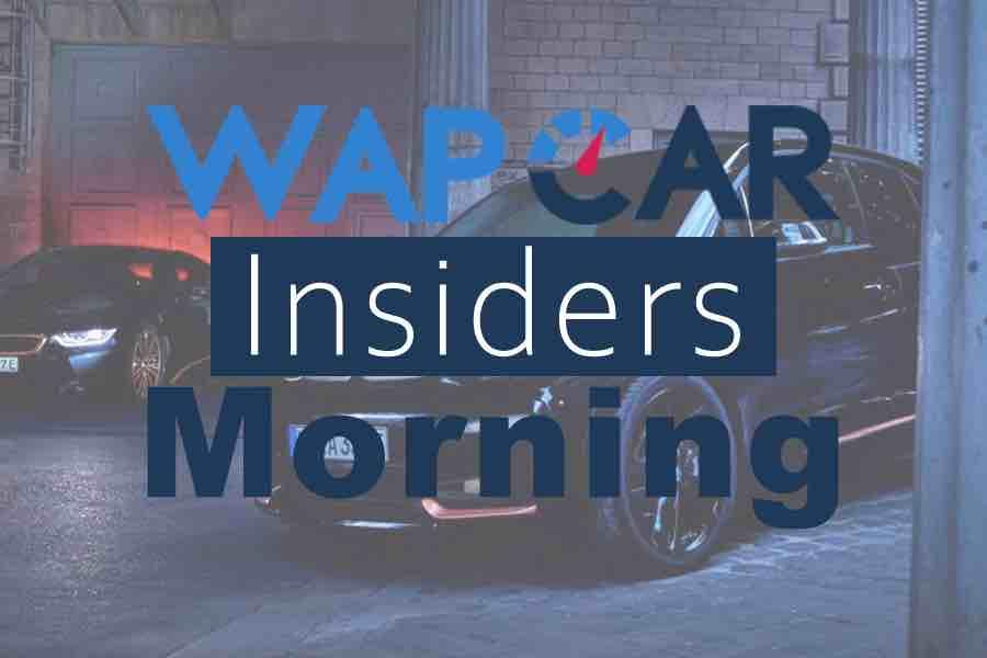 Wapcar Morning Insiders (Sep. 19, 2019)