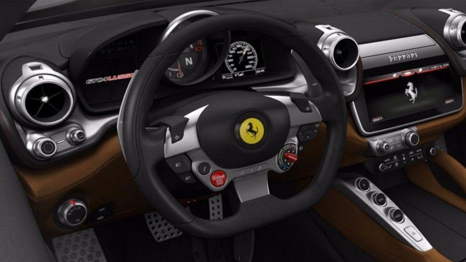 Ferrari GTC4Lusso (2016) Interior 002
