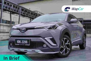 In Brief: Toyota C-HR, where style is king