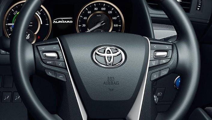 Toyota Alphard (2018) Interior 002