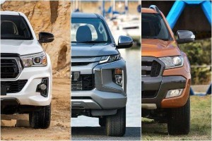 Toyota Hilux vs Mitsubishi Triton vs Ford Ranger: Which should be your next pick-up truck?