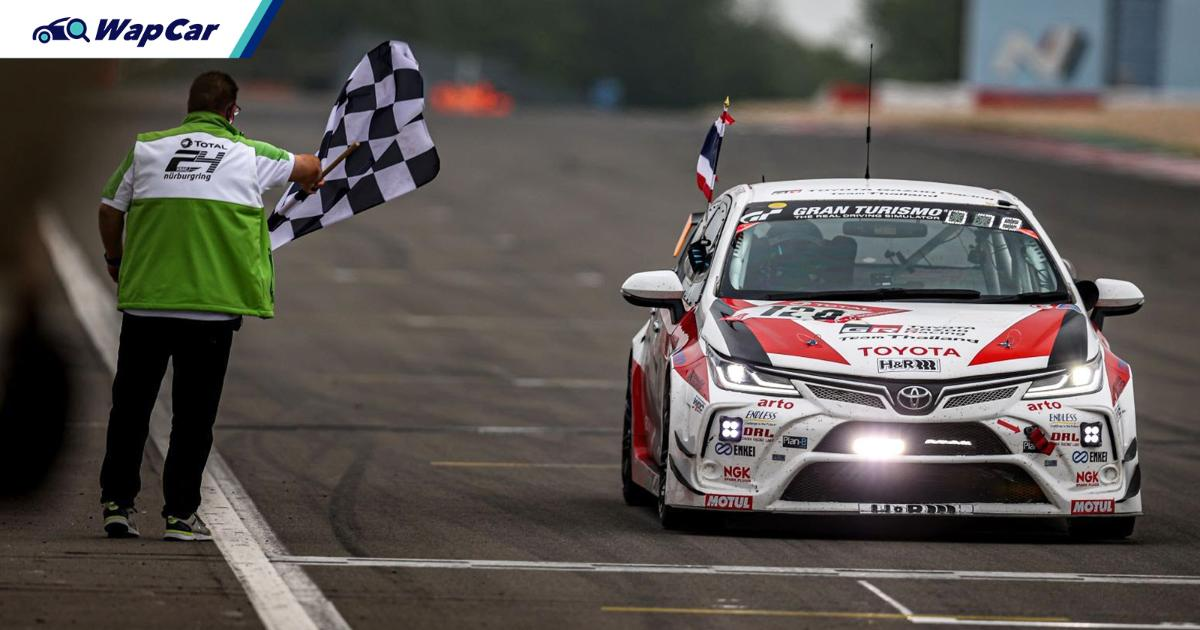 Toyota Corolla Altis conquers yet another Nurburgring 24h race 01