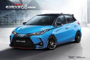Toyota Yaris 2021 – 'facelift' tak cukup garang? Masuklah kit badan Drive68!