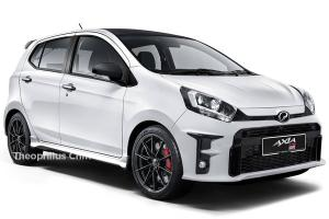 Rendered: Perodua GR Axia  - The poor man's GR Yaris