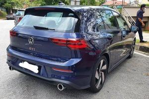 Spied: VW Golf GTI Mk8 seen in Putrajaya, to be CKD